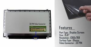 Replacement-For-Acer-Aspire-E15-E5-522-4386-15-6-034-LCD-Screen-Glossy-Display-New