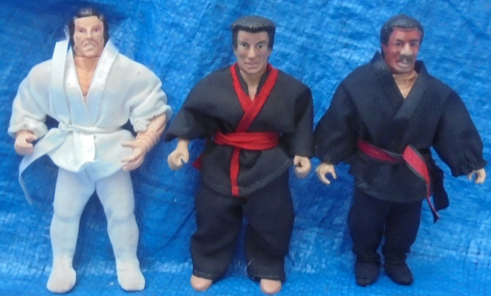 Ninja Master Master Martial Arts Action Figure With Gi Lot Vintage 1980's VTG
