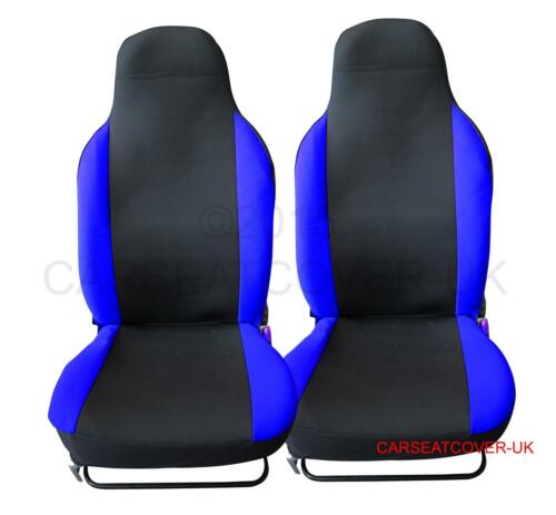 Renault Twingo Pair of PREMIUM Blue /& Black Car Seat Covers