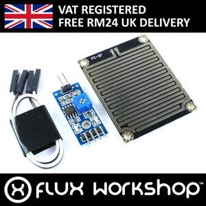 El agua de lluvia Sensor de detección de módulo clima Arduino Raspberry Pi Flux Taller