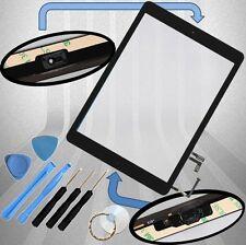 Apple iPad Air 1 Digitizer schwarz Display Glas Touchscreen+Homebutton+Klebepads
