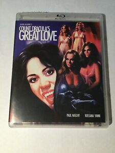 Count Draculas Great Love Blu-ray-DVD. Vinegar syndrome