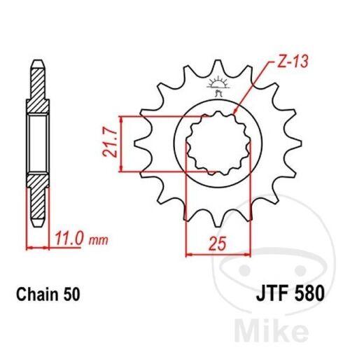JT Front Sprocket 15T 530 Pitch JTF580.15 Yamaha FZ6 600 S Fazer 2005