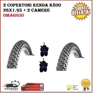 2-Copertoni-Mtb-26-Bici-Mountain-Bike-26x1-95-Kenda-K800-Gomme-Pneumatici