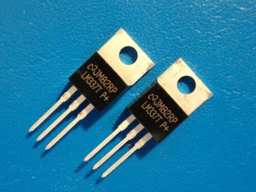 National LM337T 1.5 Amp réglable négatif Régulateur de tension Qty = 2