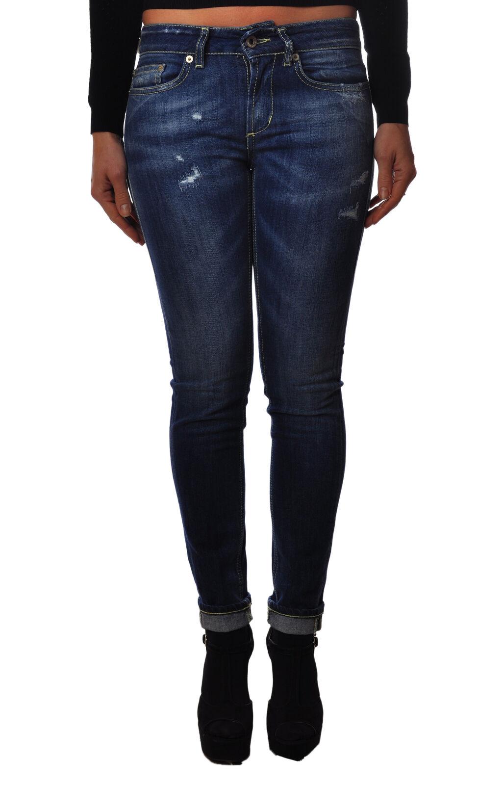 Dondup - Jeans-Pants-slim fit - Woman - Denim - 3107617C184610