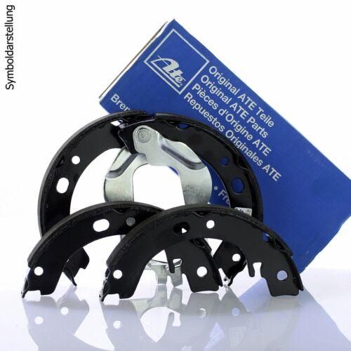 ATE 4x Bremsbacken Bremsbackensatz für Trommelbremse Hinten Vorne 03.0137-0015.2