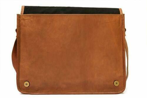 Details about  /Vintage S To XXL men Genuine Real Leather Handbag Shoulder Bag Satchel Messenger