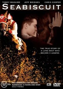 Seabiscuit-New-Old-Australian-Stock-NEW-DVD-Rare-OOP-Tobey-Maguire