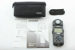 [ Near Mint+++ ] Sekonic C-500 Prodigi Color Meter w/ Pouch Strap From JAPAN