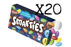 Nestle-Smarties-Candy-coated-chocolates-Canadian-Canada-FRESH-20x45g