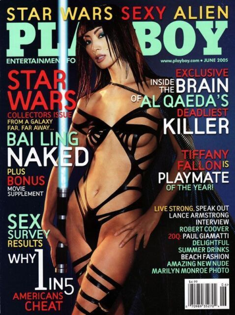 NEW Playboy June 2005 / Star Wars / Bai Ling / Lance Armstrong Interview