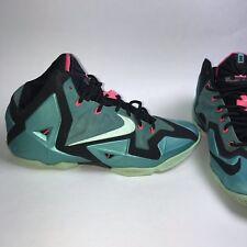 843615437bee7d item 2 Nike LeBron 11 XI South Beach Sport Turquoise Mint-Black Sz 11 Used  -Nike LeBron 11 XI South Beach Sport Turquoise Mint-Black Sz 11 Used