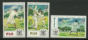 Album-Treasures-Fiji-Scott-344-6-Cricket-Centenary-MNH