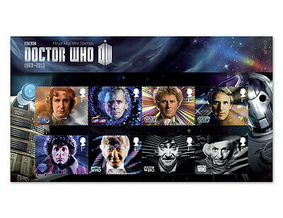 New Royal Mail Doctor Who Presentation Pack
