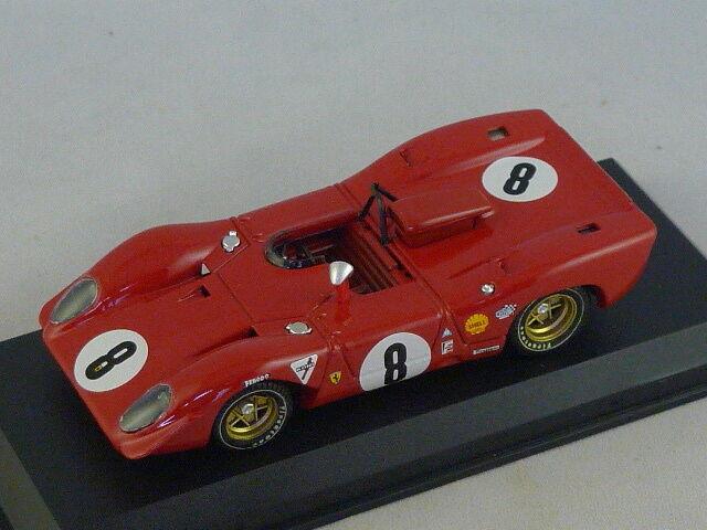 MODEL BEST 9243  -  FERRARI 312 P SPY 1000 KM SPA 1969 N°8 1 43