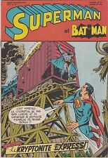 1971 DC Interpresse Comics Superman & Batman Comic Book #41 French and Belgium