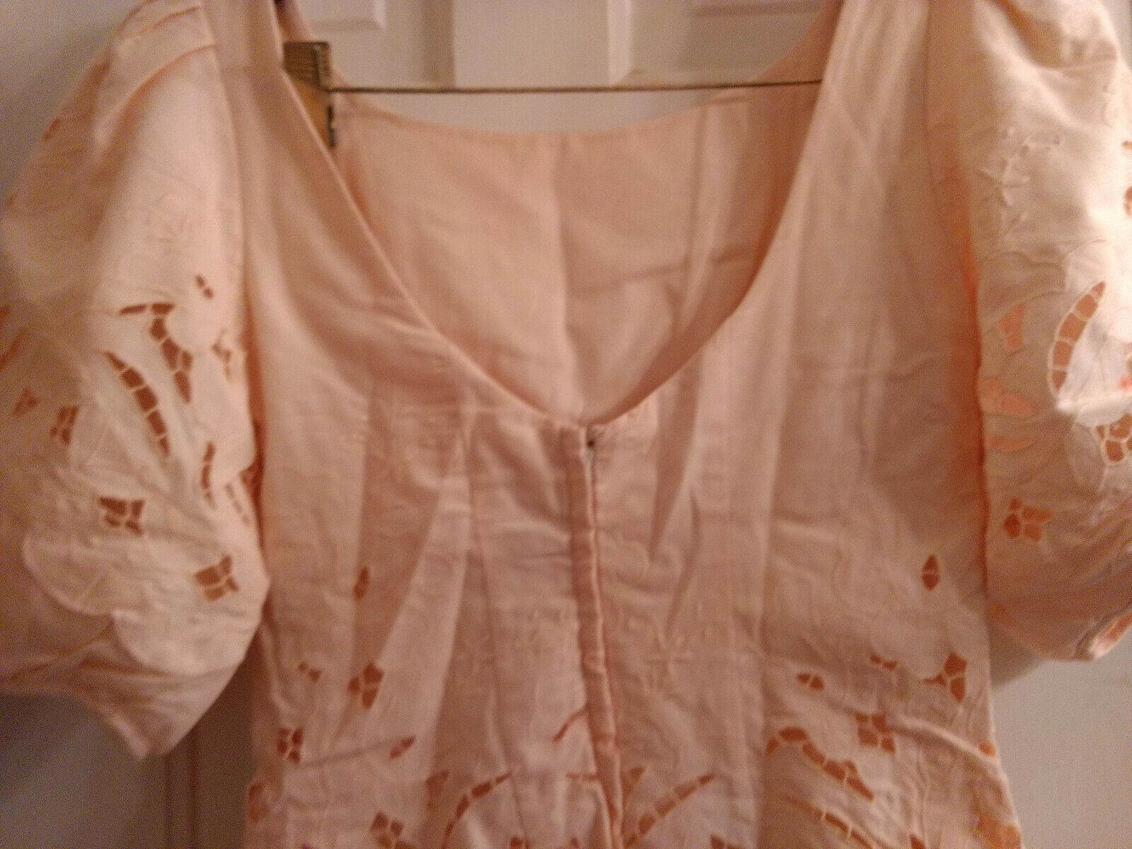 Vintage Marie St Claire 100% Cotton Embroidered C… - image 7
