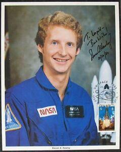 S1439-Viaje-Al-Espacio-Astronauta-Steven-a-Hawley-Nasa-Photo-Authentic