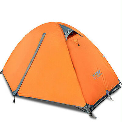 Camping/Outdoor 1-2 Person Double-layer Waterproof Camping  Aluminum Tent