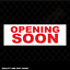 Opening Soon New Business Store Shop Signage Colour Sign Printed Heavy Duty 4086