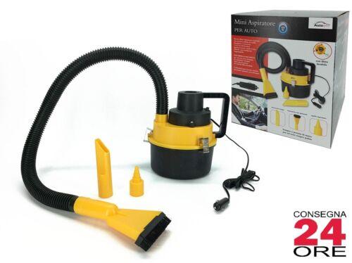 Aspirapolvere per auto Mini Aspiratore 12V con accessori Senza sacchetto 3 Litri