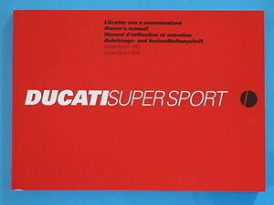 DUCATI-750-900-SUPERSPORT-INJECTION-MODELS-ONLY-GENUINE-FACTORY-HANDBOOK