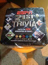 21st Century ESPN Trivia.  New In Sealed Tin.
