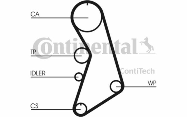 CONTITECH Kit de distribución para SEAT LEON TOLEDO VW GOLF AUDI A6 CT909K6