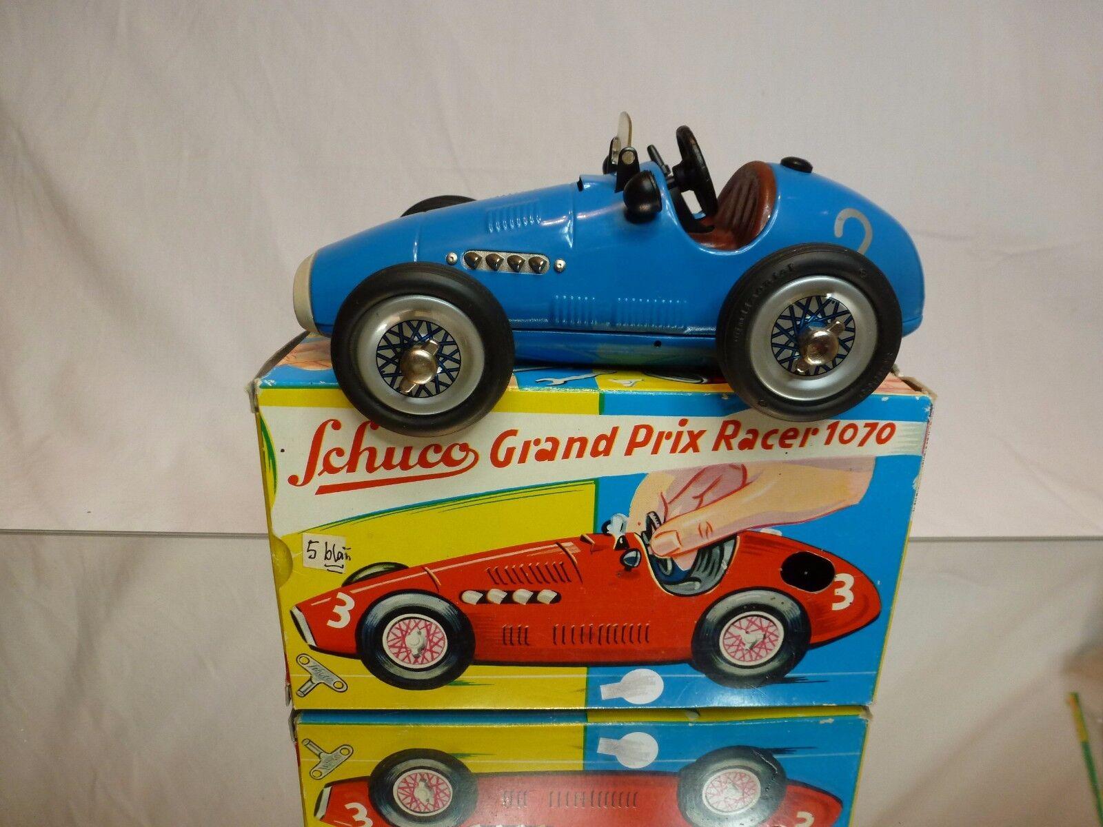 SCHUCO 1070 GRAND PRIX RACER  2 - F1 bleu L16.0cm - EXCELLENT CONDITION IN BOX