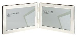 image is loading silver plated picture photo landscape double frame 5