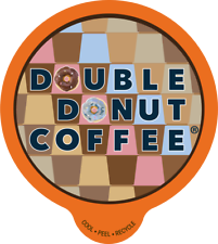 Double Donut Coffee K-Cups For Keurig Brewers Value Packs Choose Your Flavor!!!