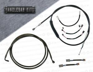 Harley Davidson Softail Slim NON ABS Cable Kit 2018-2020 USA Made!!
