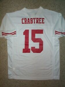 55) San Francisco 49ers MICHAEL CRABTREE nfl Jersey YOUTH KIDS ...