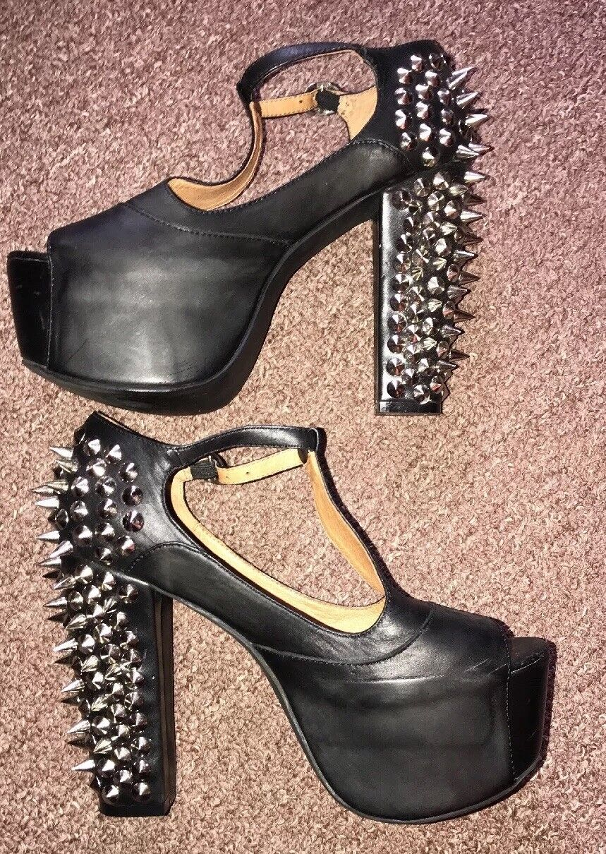 Jeffrey Campbell Spikes Sandals Platform Size7M worn once
