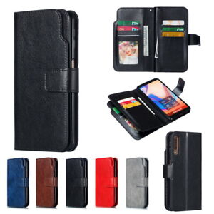 For-Samsung-Galaxy-Note-10-Plus-S10-S9-S8-Leather-Lychee-Texture-Flip-Case-Cover