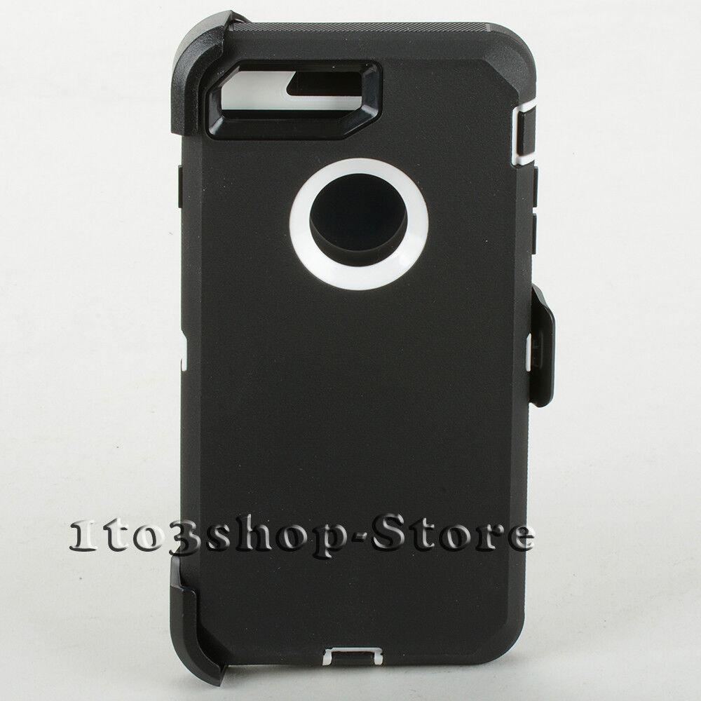 iphone 8 plus hard case white