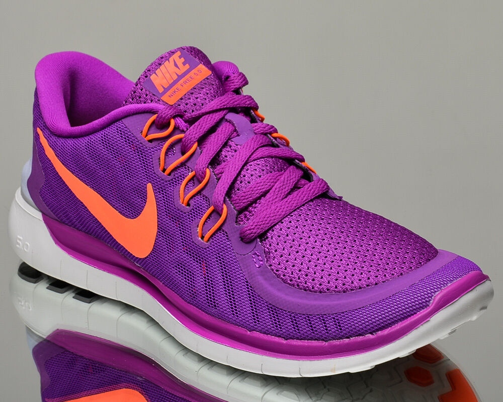 Nike WMNS Free 5.0 5 V Damenss running run sneakers NEW vivid purple hyper orange