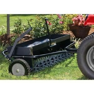 Industrial 40 Quot Aerator Amp Spreader Combo 132 Spikes 120
