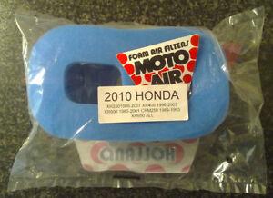 """MF2010 """"MotoAir"""" Air Filter - Honda CRM250, XR250, XR400, XR600, XR650"""
