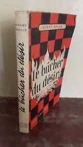 Henry Ghils Il Bucher Del Desir Grande Scacchi 1955 IN 12 B.E