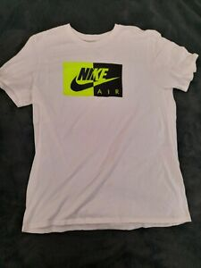 como eso Adolescente Testificar  Nike Air Graphic camiseta Mens grande | eBay