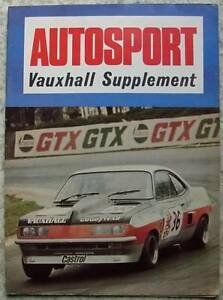 VAUXHALL-AUTOSPORT-Special-Supplement-Magazine-1974-FIRENZA-COUPE-Test-DTV