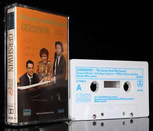GEORGE-GERSHWIN-SONGS-amp-DUETS-Kaye-Sharp-original-MC-Kassette-tape-cassette