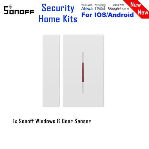 Kits Sonoff RF Bridge Door/&Window 433Wifi Remote Smart Switch DIY Timer Home Lot