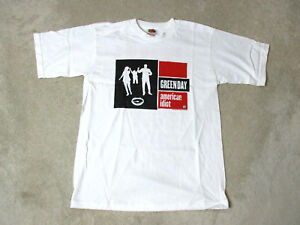 NEW Green Day American Idiot Concert Shirt Youth Medium Dynamite Band Tour Kids