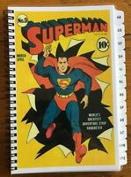 Password Book Internet Website Address Book A-z Tabs Superman Personalized Gift