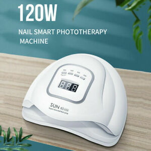 120W-Nail-Lamp-UV-LED-Light-Gel-Polish-Nail-Dryer-Manicure-Curing-Machine-Tool