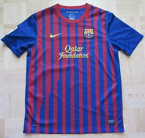16051fba22b Barca 2011-2012 Nike FC Barcelona HOME Shirt Red-Blue/ SIZE XL.Boys ...