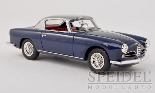 Maravilloso MODELCoche Alfa Romeo 1900C súper Sprint Touring 1956-Azul Oscuro - 1 43